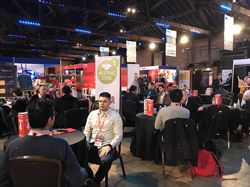 Papaya EMEA takes at a stand @ PG Connects London 2018