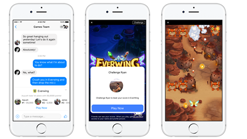 Facebook instants, the evolution of mobile gaming?